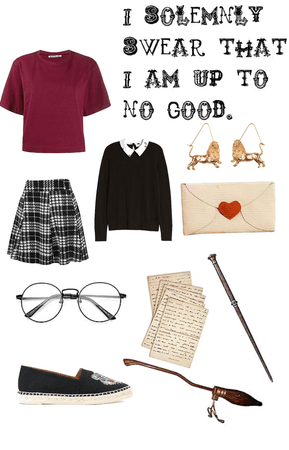 DIY Gryffindor Girls Uniform