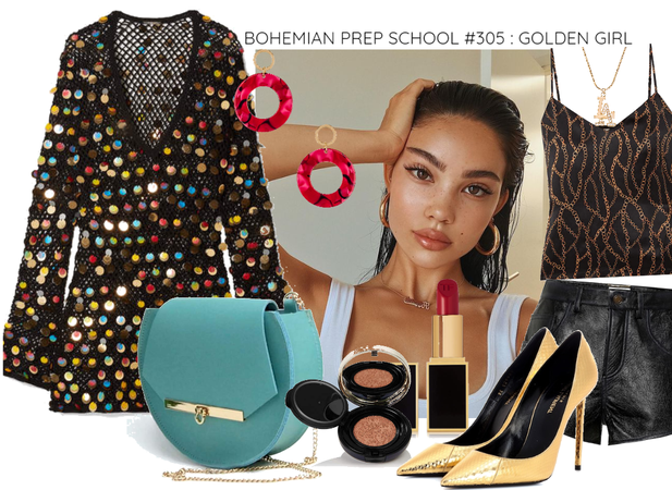Bohemian Prep School #305: Golden Girl