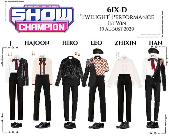 6IX-D [씩스띠] Show Champion 200819