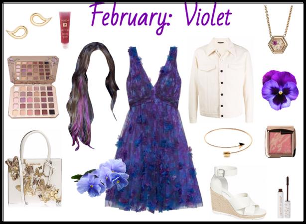 February: Violet