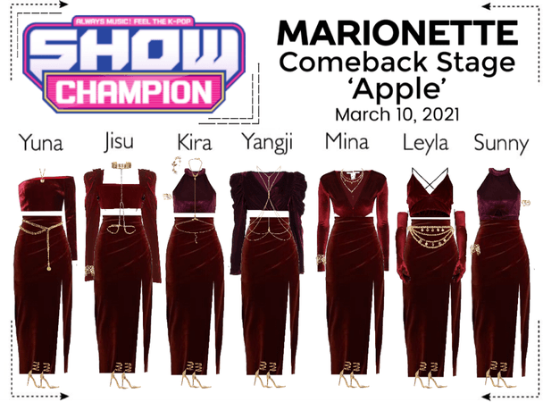 마리오네트 (MARIONETTE) - [SHOW CHAMPION] Comeback Stage