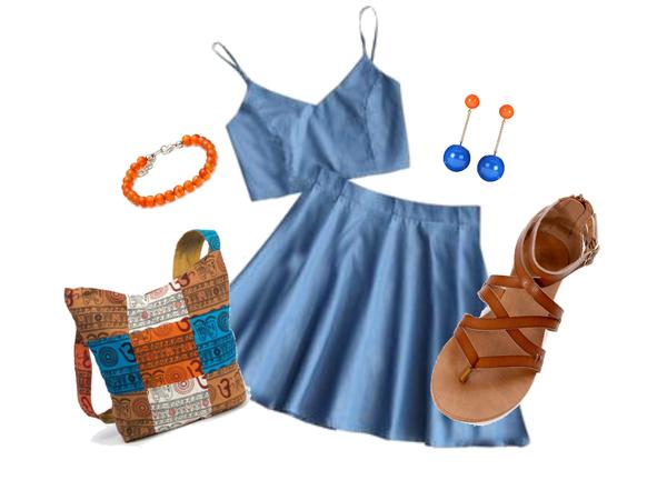 Summer Outfit Carnelian Bracelet