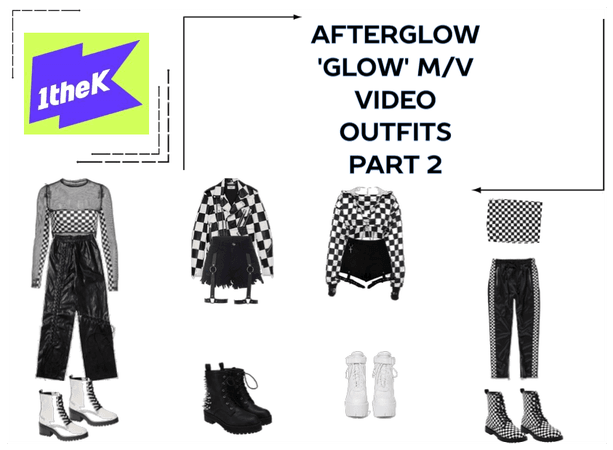 AFTERGLOW 'Glow' M/V Outfits Part 2