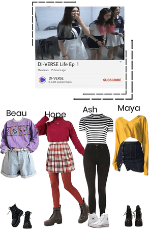 DI-VERSE Life Ep. 1 Outfits