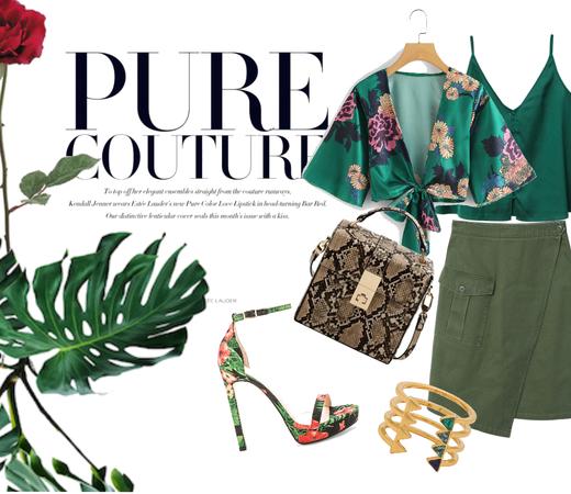 Tropic Emerald Look