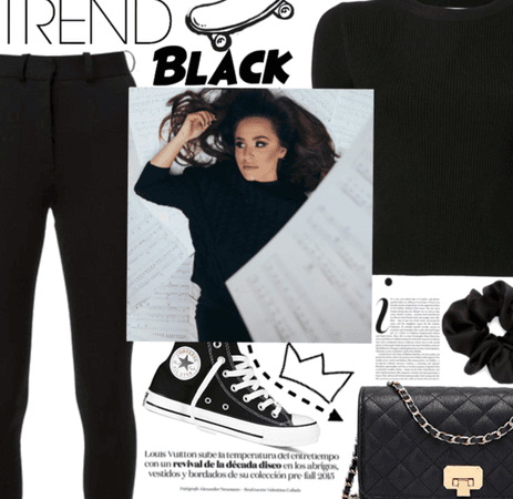 Trend: Black.