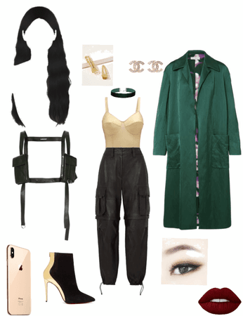 modern/kfashion lady loki