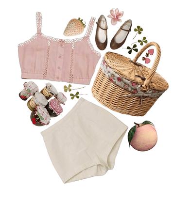 a little 60s summer picnic
