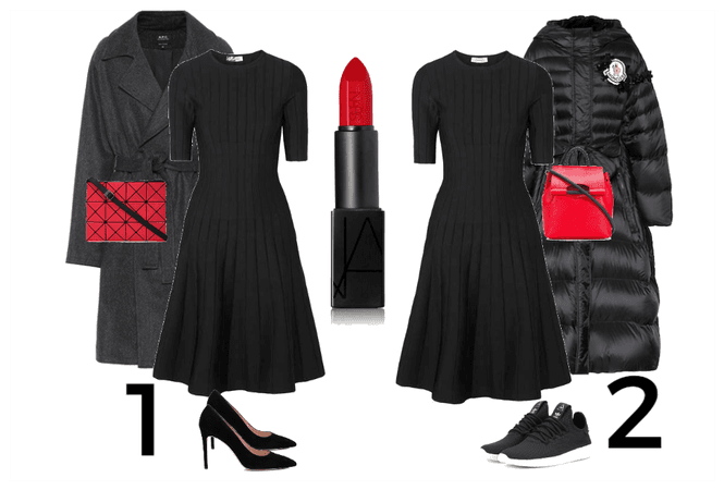 one dress two mood