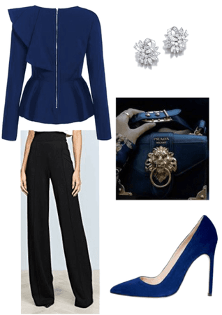 Dark Blue Pant Outfit
