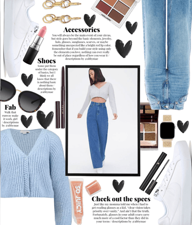 Ice Blue Cropped Cardigans