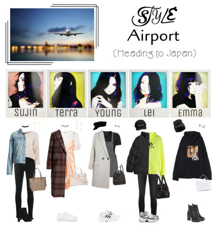 STYLE At The Airport (Heading to Japan)