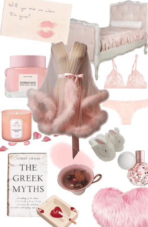 Pink Sleep Wear   Cigarettes Before Sleep