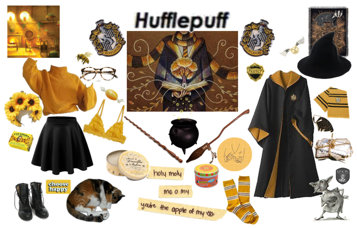 Those patient Hufflepuffs are true and unafraid
