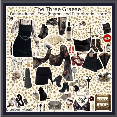 the three graeae moodboard