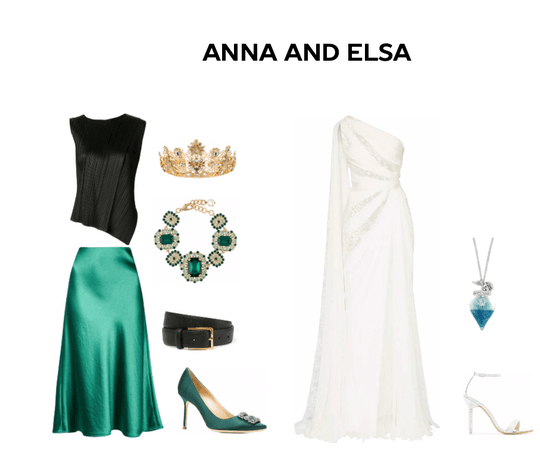 Frozen Queen Anna and Elsa