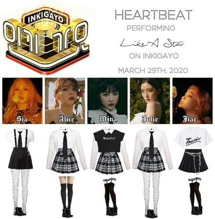 [HEARTBEAT] INKIGAYO 200329 | 'LIKE A STAR'