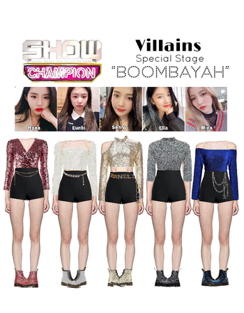 Boombayah Stage (fake kpop group)