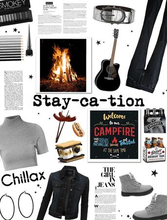 STAYCATION/Backyard Bonfire