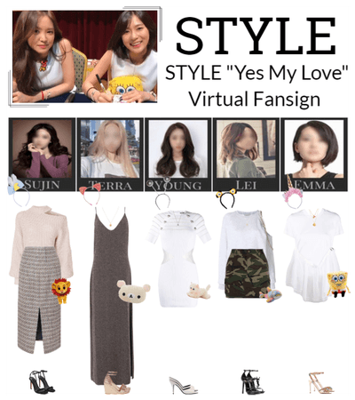 "STYLE ""Yes My Love"" Virtual Fansign"
