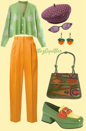 #yellow#green#orange#purle
