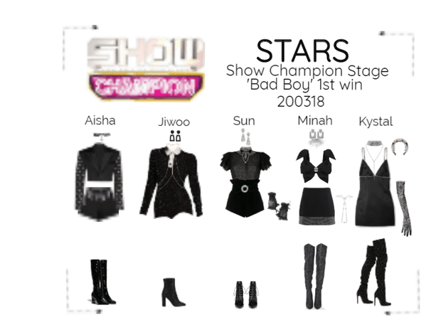 STARS | Show Champion | Bad Boy 1st win