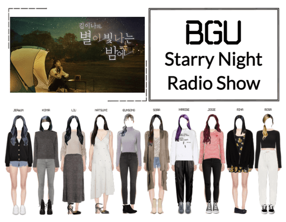 BGU Starry Night Radio Show