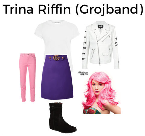 Trina Riffin from Grojband