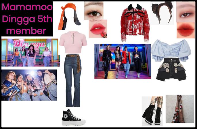 Mamamoo 5th member both MV outfits