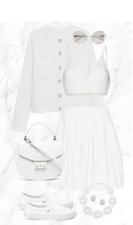 All White!