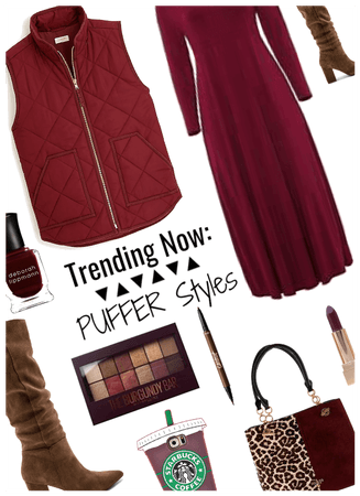 Trending Now: Puffer Styles: Plus size look