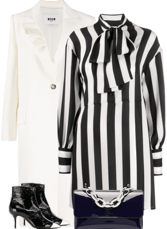 WHITE COAT- MSGM