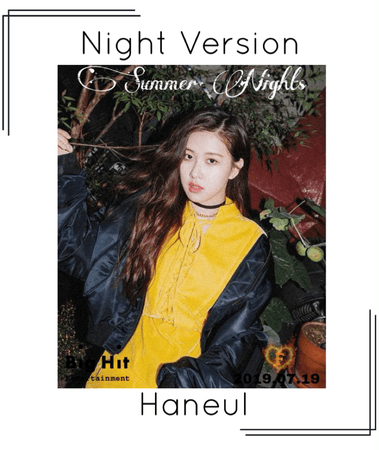 Haneul - [Night] 'Summer Nights' Photos