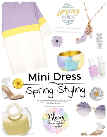 Mini Dress: Spring Styling