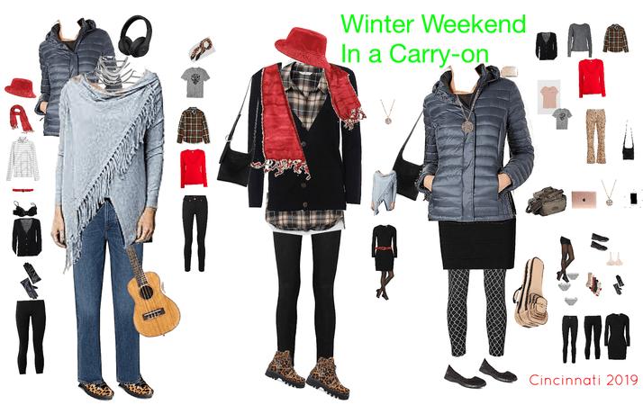 Winter Weekend in a Carryon