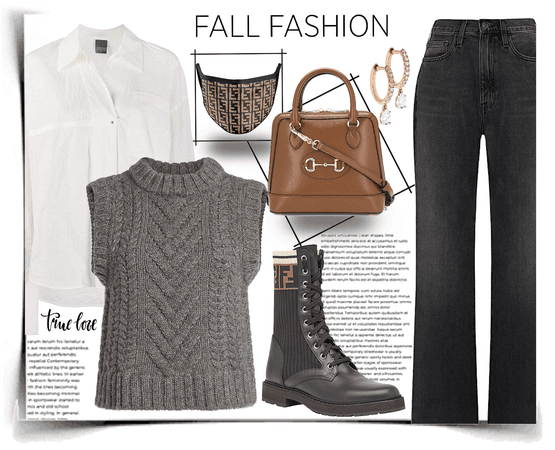 Fall with a special accessory
