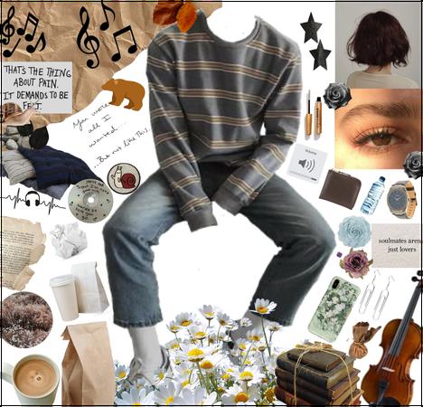 Y/N is a Violinist and a Sad Hooman Reac Desc