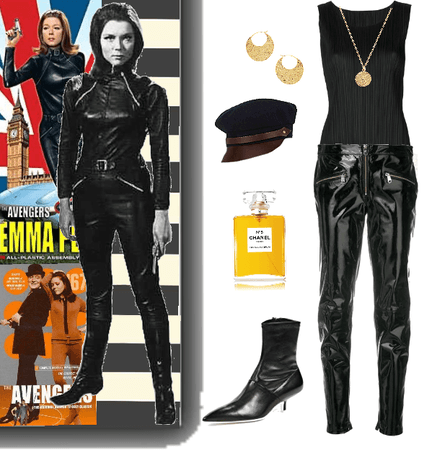 Fashion Icon:  Diana Rigg as Emma Peel in The Avengers