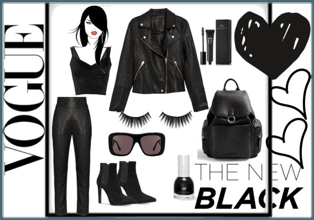total black