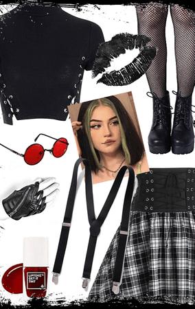 e-girl grunge style!