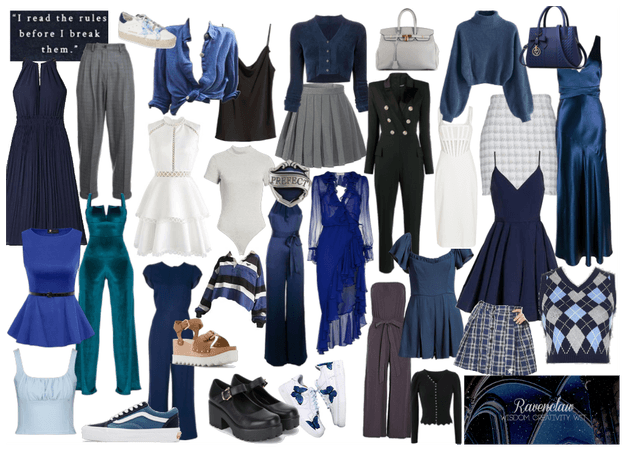 Mood Board of a Ravenclaw