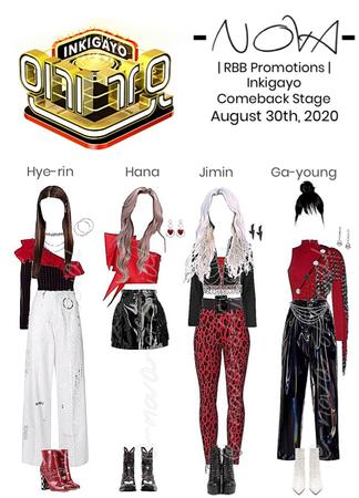 -NOVA- RBB   Inkigayo Stage