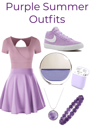 Purple Summer Outfit Challenge