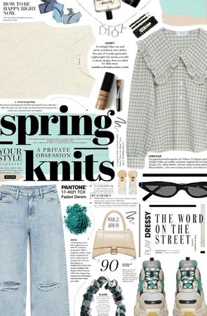 spring knits. 🤍