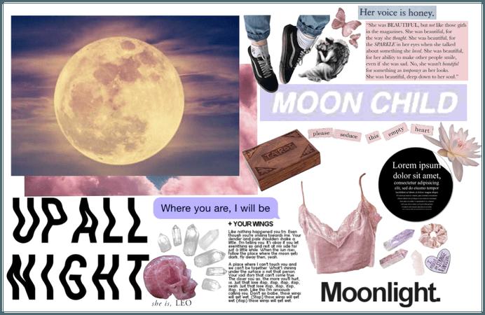 Super Snow Moon ~ LEO