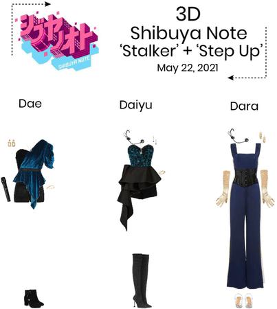 3D//Shibuya Note