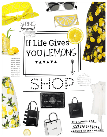 When life gives u lemons-Shop