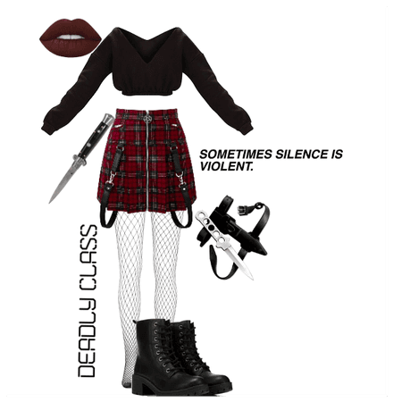 Deadly Class Outfit 10