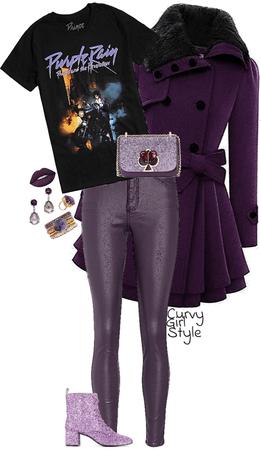 Purple Reign (Curvy Girl Style)