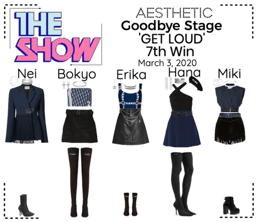 AESTHETIC (미적) [THE SHOW] Goodbye Stage